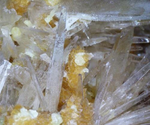 Baryte & Native Sulphur