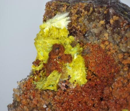 Phosphuranylite Uranophane Metatorbernite & Metanováčekite