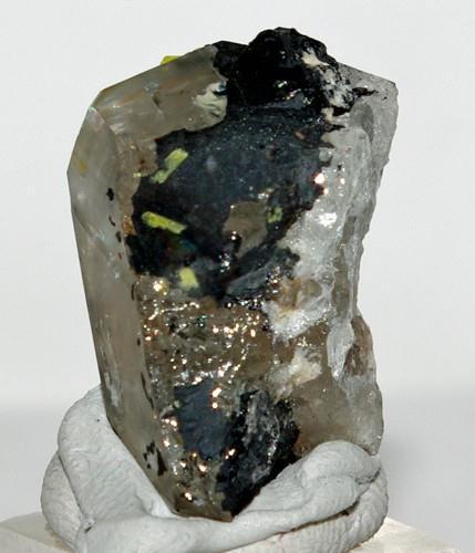 Metanováčekite & Hyalite