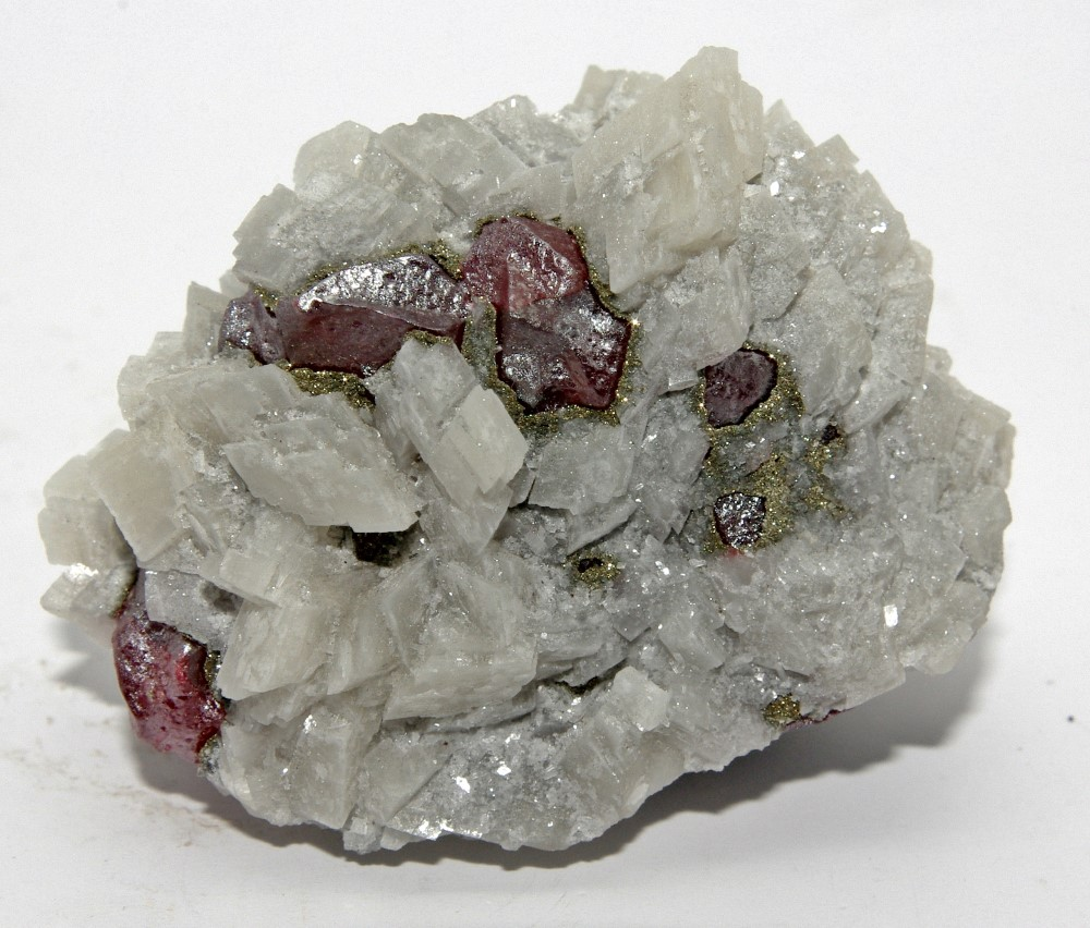 Cinnabar Pyrite & Dolomite