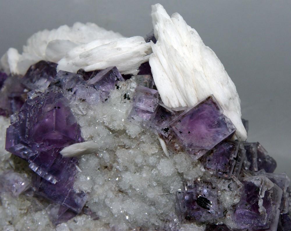Fluorite Baryte & Quartz