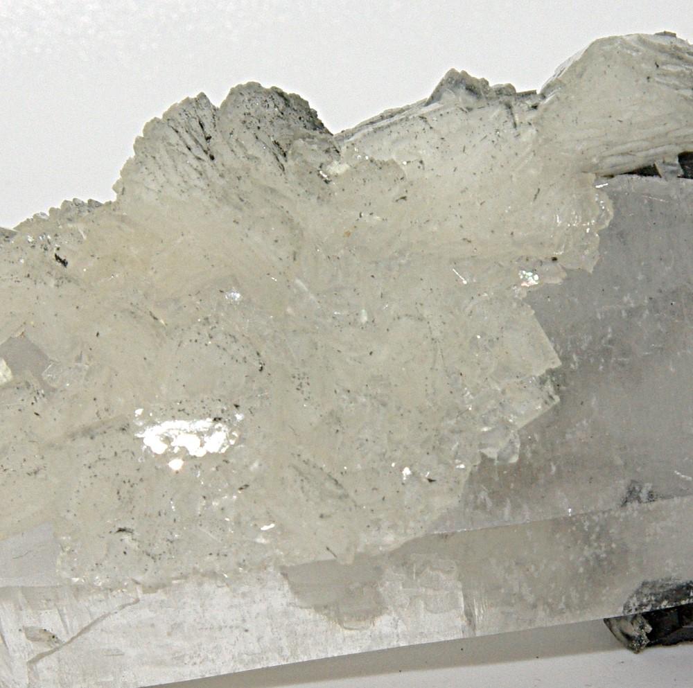 Quartz Ferberite & Calcite