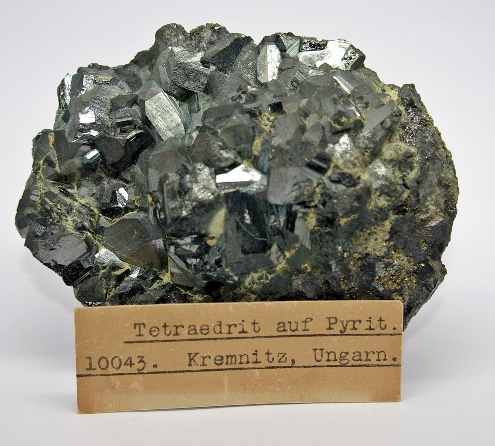 Tetrahedrite With Pyrite