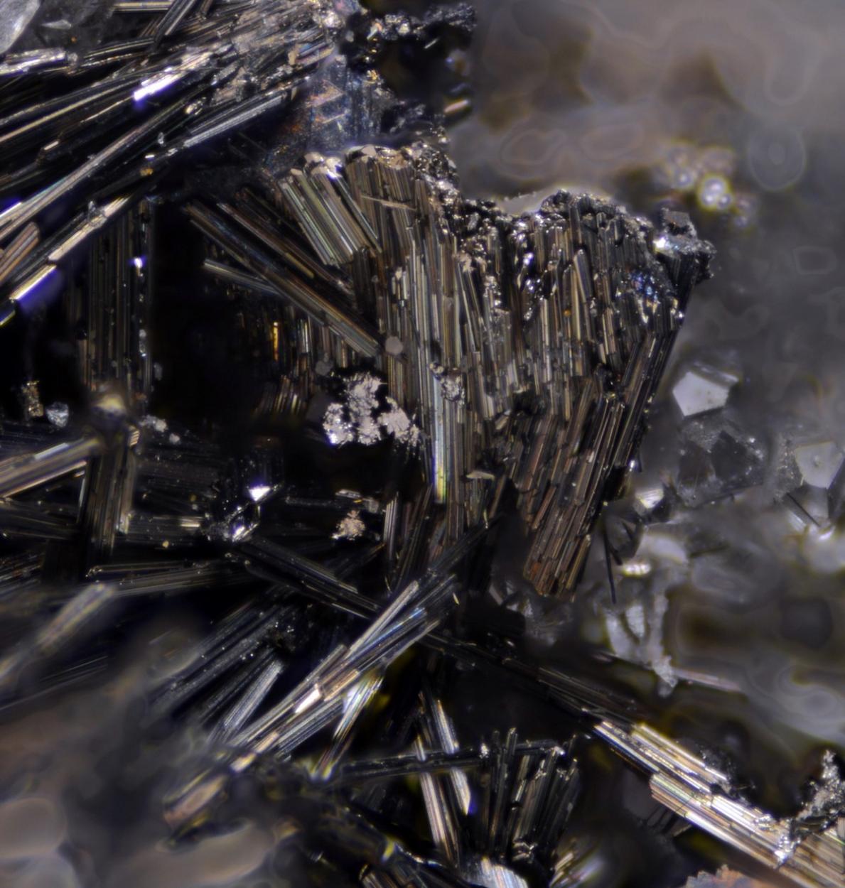 Aikinite Sphalerite & Quartz
