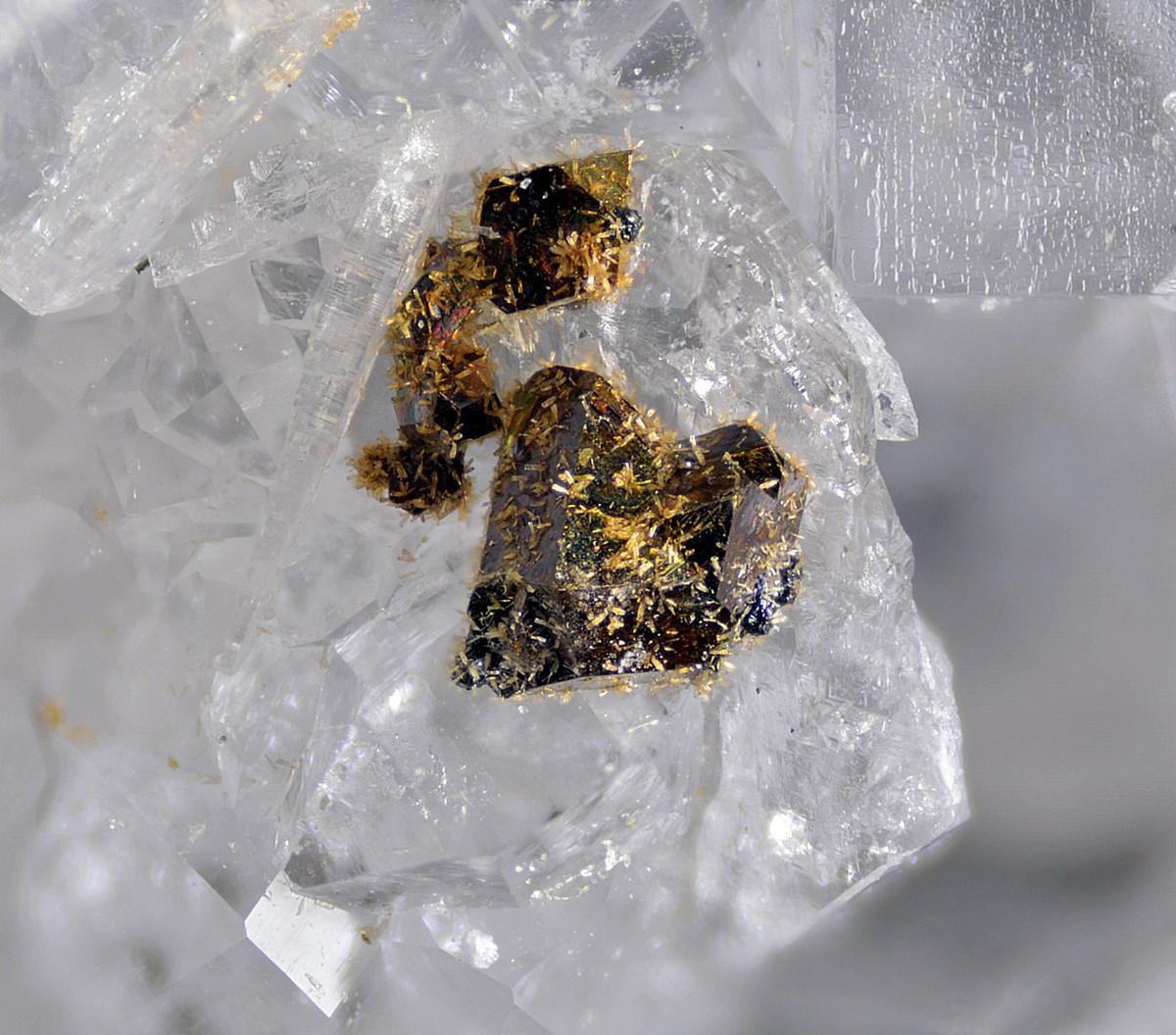 Rhabdophane-(Ce) & Chalcopyrite