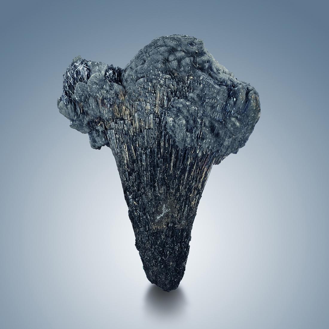 Berthierite With Dolomite & Antimony