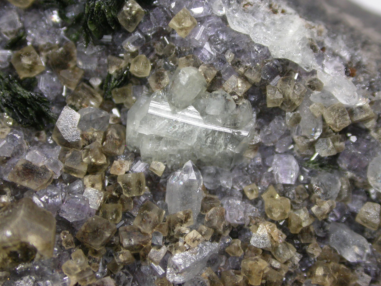 Brazilianite Apatite Siderite Quartz & Kulanite