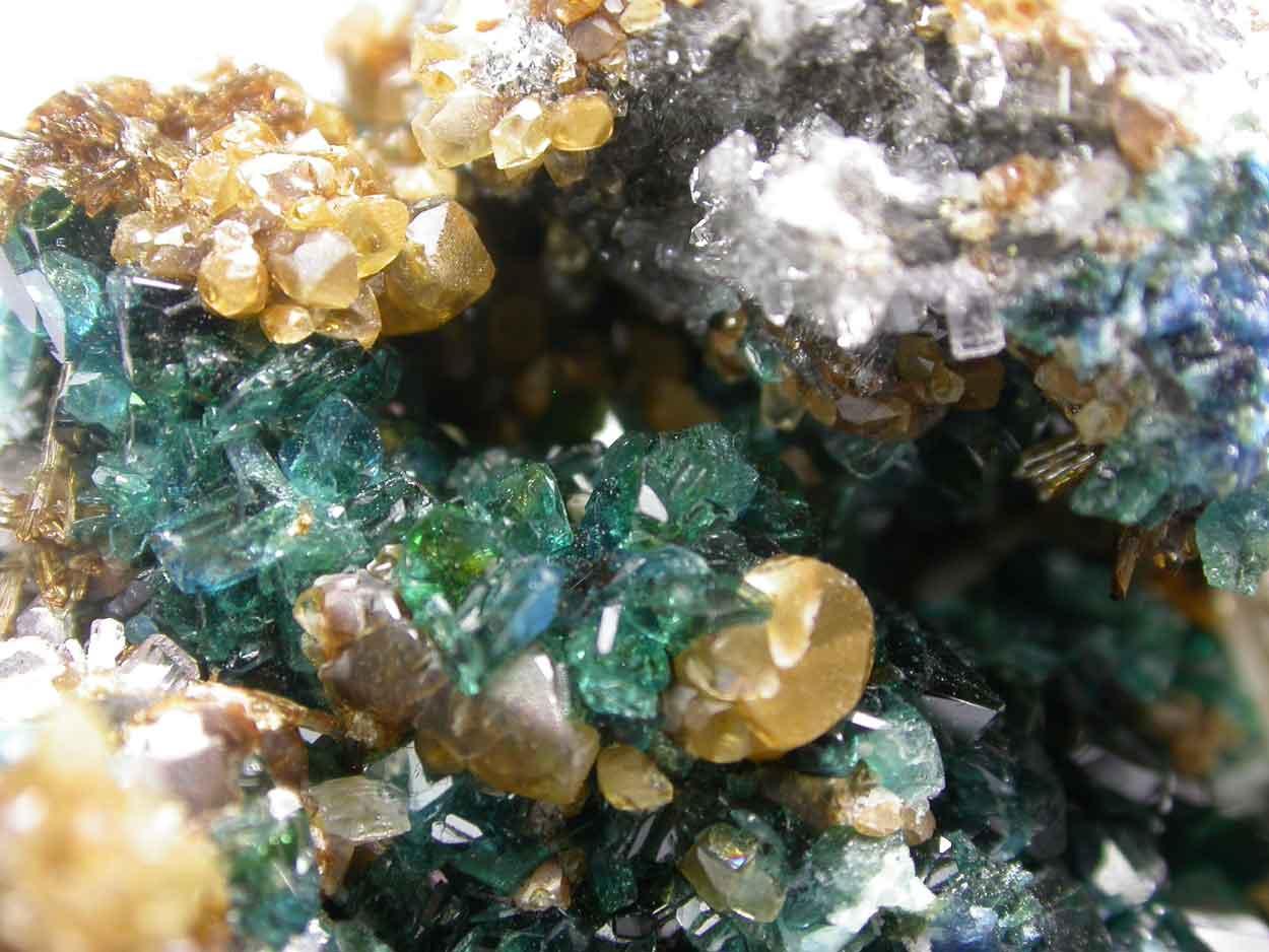 Lazulite Siderite Eosphorite Apatite & Quartz