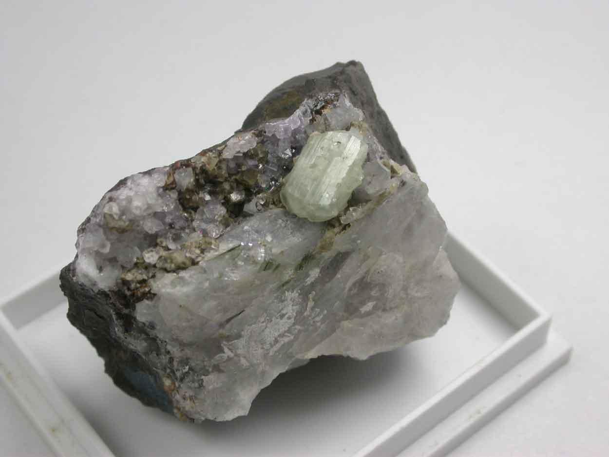 Brazilianite Apatite Siderite & Quartz