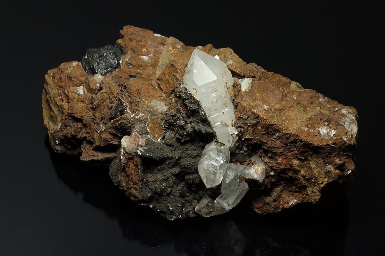 Quartz Asphaltum & Siderite