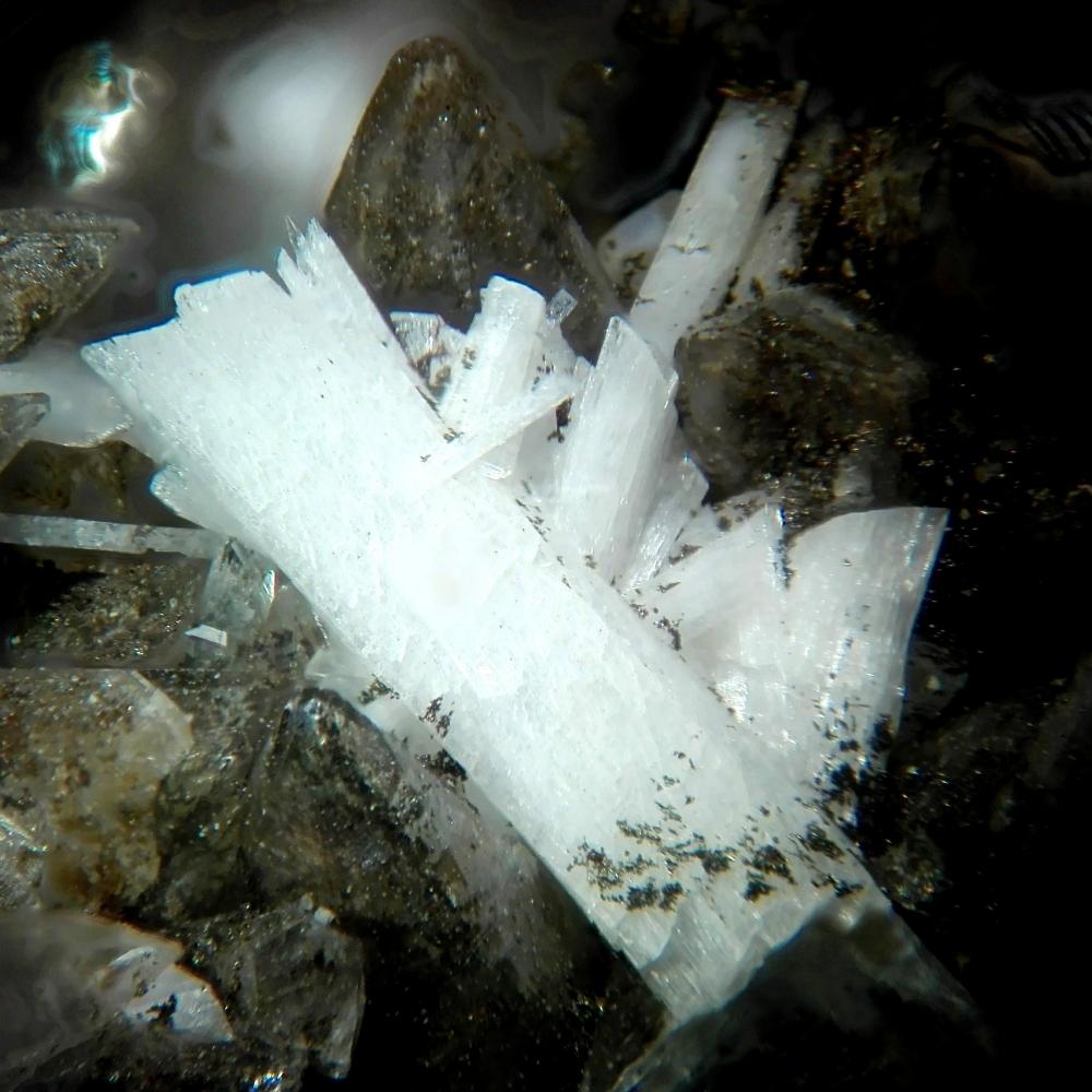 Laumontite On Calcite
