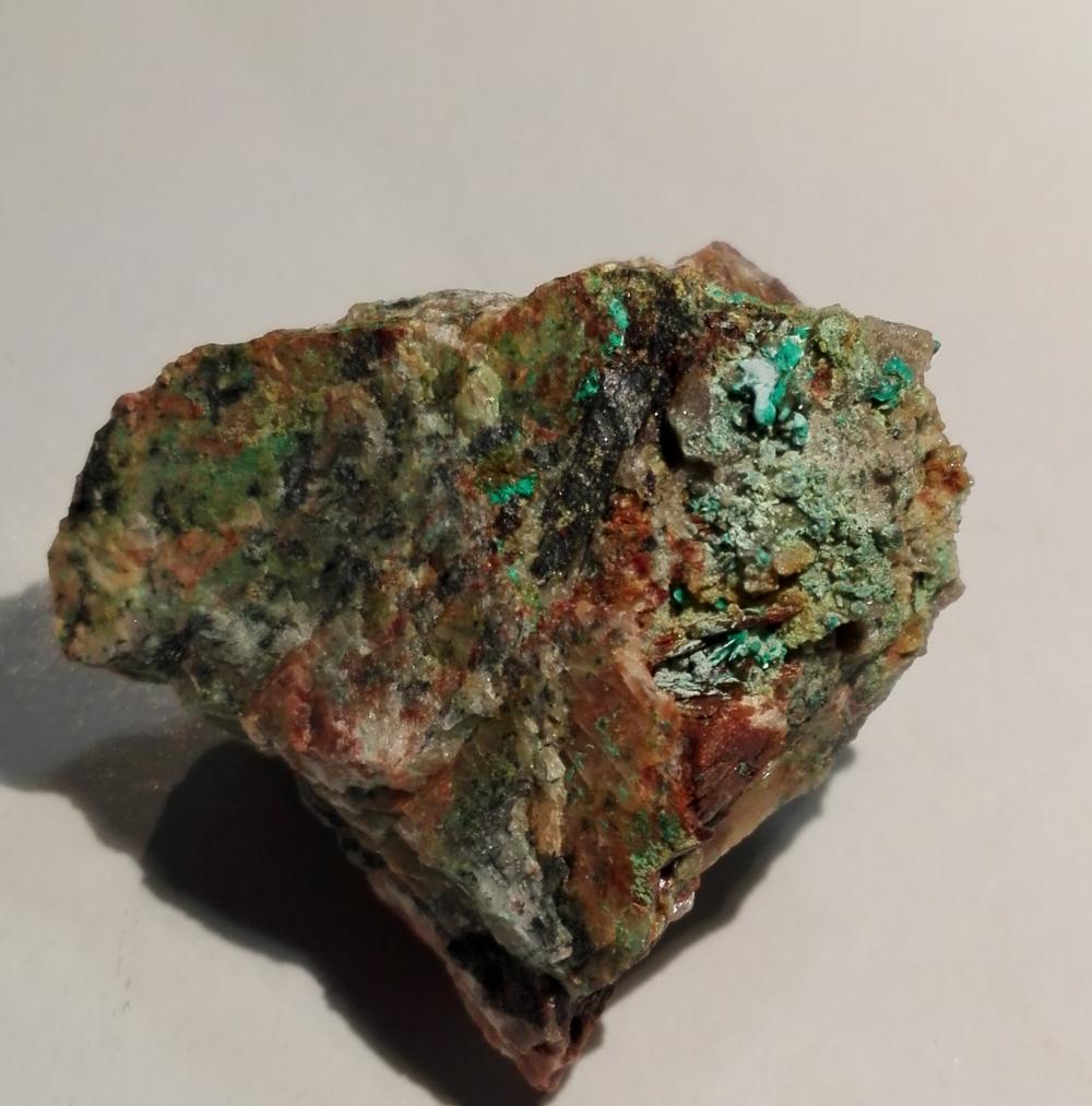 Mixite & Olivenite