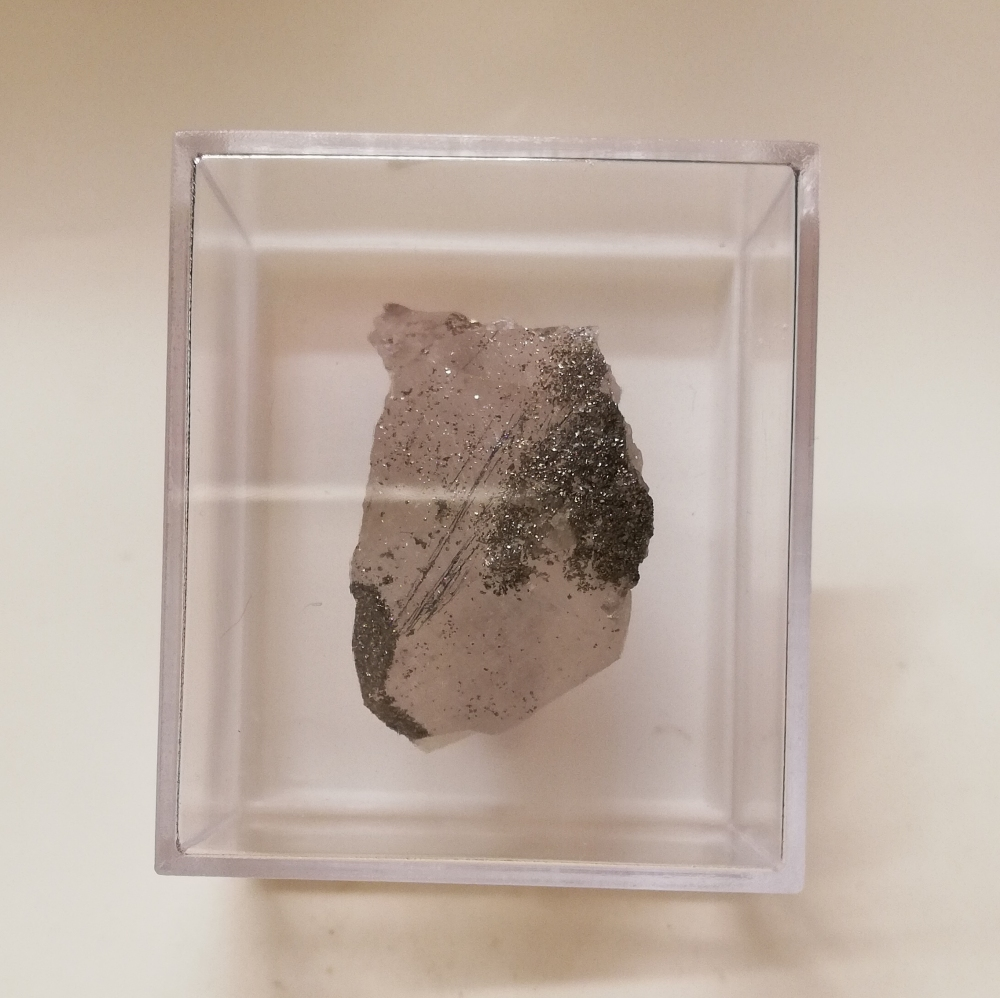 Sterryite Quartz Pyrite