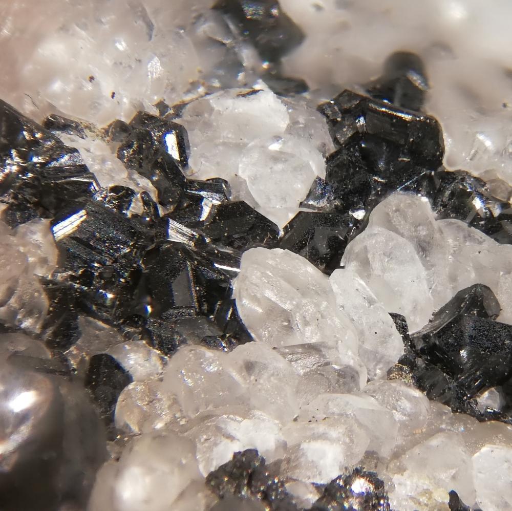 Chalcocite & Calcite