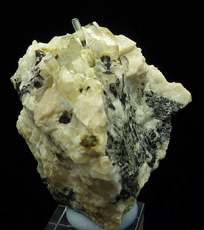 Elbaite Quartz & Microcline