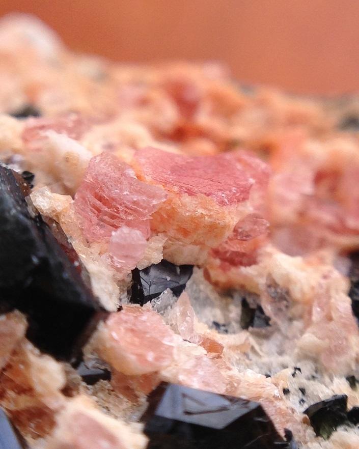 Pezzottaite Tourmaline & Amazonite