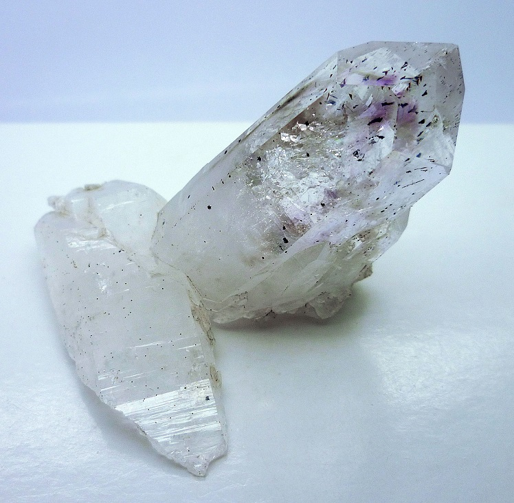 Amethyst With Hematite & Analcime