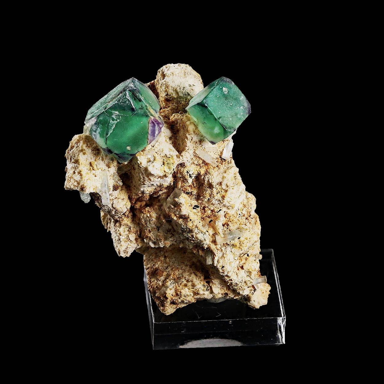 Aquamarine & Fluorite