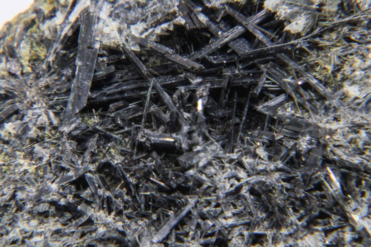 Ferro-actinolite & Ferro-hornblende