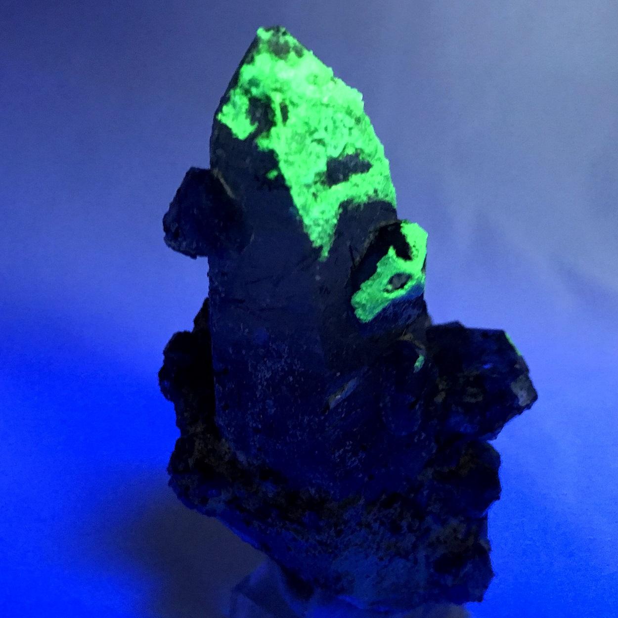 Quartz Fluorite Schorl & Hyalite