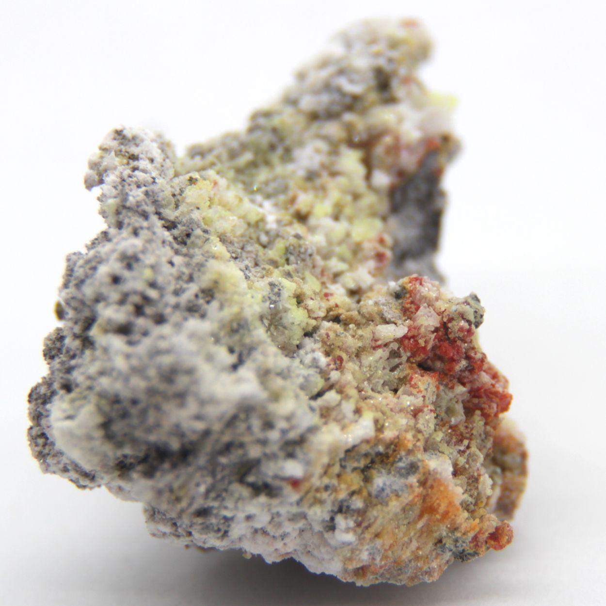Claudetite Arsenolite & Realgar With Orpiment