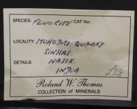 Roland Thomas Collection label