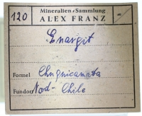 Alex Franz standard label