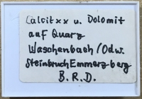 Typical Box label in Forg's handwriting