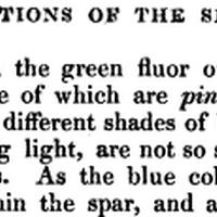Album: Daylight Fluorescence of Weardale Green Fluorspar