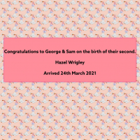 Content image: Congratulations to George