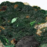 Torbernite & Pseudomalachite