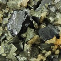 Arsenopyrite Sphalerite Calcite & Quartz