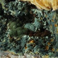 Chalcosiderite & Dufrénite