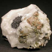 Rhodochrosite & Analcime