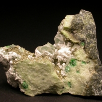 Grossular & Calcite