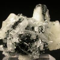 Pectolite & Fluorapophyllite-(K) & Arfvedsonite