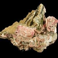 Kupletskite Niobokupletskite & Rhodochrosite