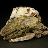 Calcioancylite-(Ce) & Analcime