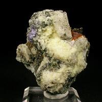 Calcite & Fluorite & Annite