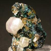 Fluorapatite & Lazulite