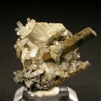 Catapleiite & Natrolite & Aegirine