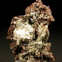 Rhodochrosite & Elpidite & Leifite & Fluorite