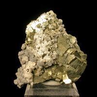 Dawsonite & Pyrite & Dolomite
