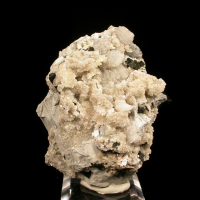 Analcime Natrolite Rhodochrosite & Nenadkevichite