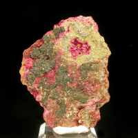 Smolyaninovite Erythrite & Heterogenite