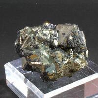 Bornite On Pyrite