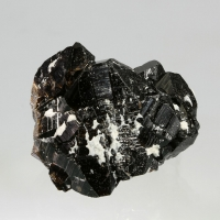 Cassiterite With Topaz