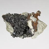 Cuprite With Copper