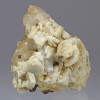 Adularia With Quartz & Pyrite