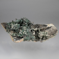 Malachite & Cerussite On Tennantite